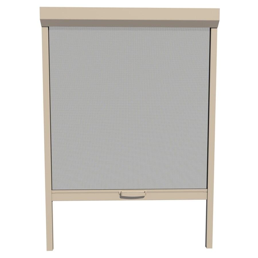LARSON 26-in x 72-in Desert Tan Retractable Screen Door