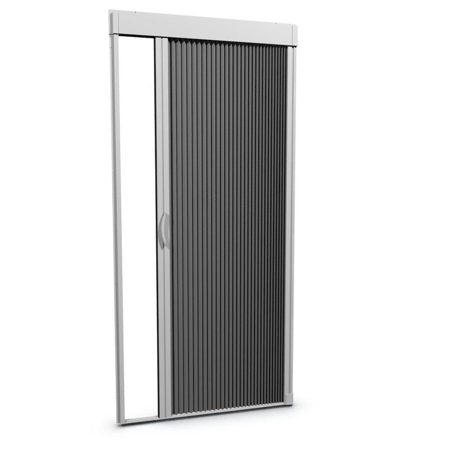 LARSON 36-in x 79-in White Retractable Screen Door