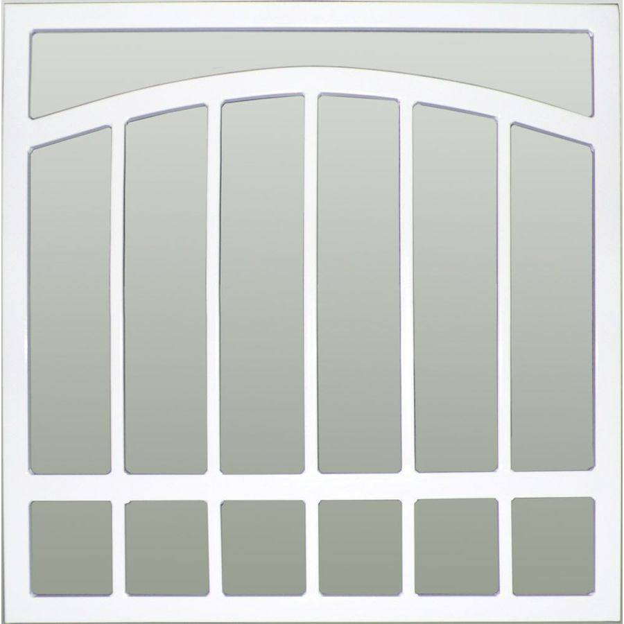Gatehouse Arched 48-in White Arched Window Security Bar