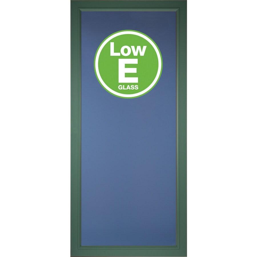 Pella Select Hemlock Full-View Low-E Aluminum Storm Door (Common: 32-in x 81-in; Actual: 31.75-in x 79.875-in)