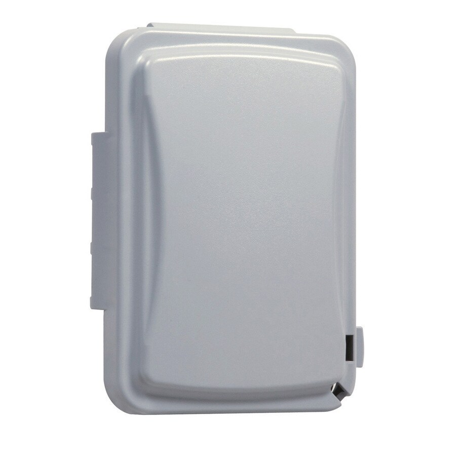Electrical Weatherproof Lock Box: Shop Hubbell TayMac 1-Gang Rectangle Plastic Weatherproof