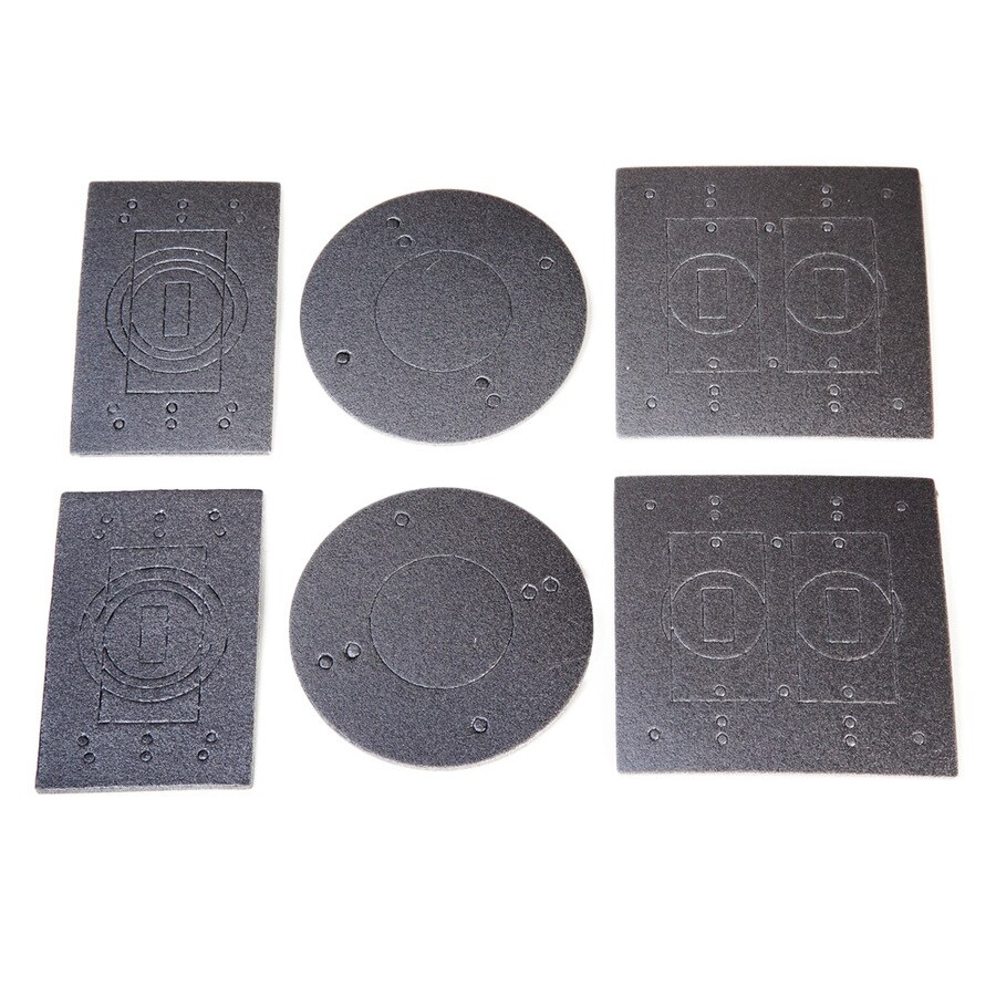 Hubbell TayMac 2-Gang Weatherproof Replacement Electrical Outlet Gasket