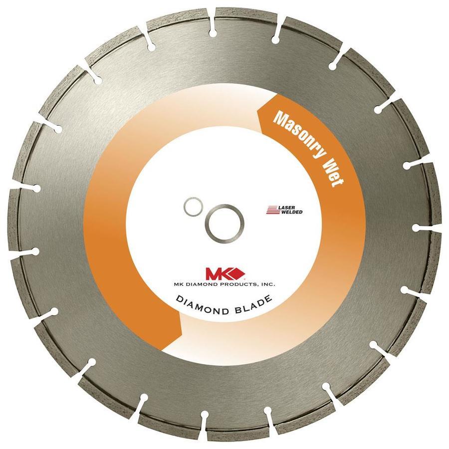 MK Diamond Products 10-in 18-Tooth Wet Segmented Diamond Circular Saw Blade