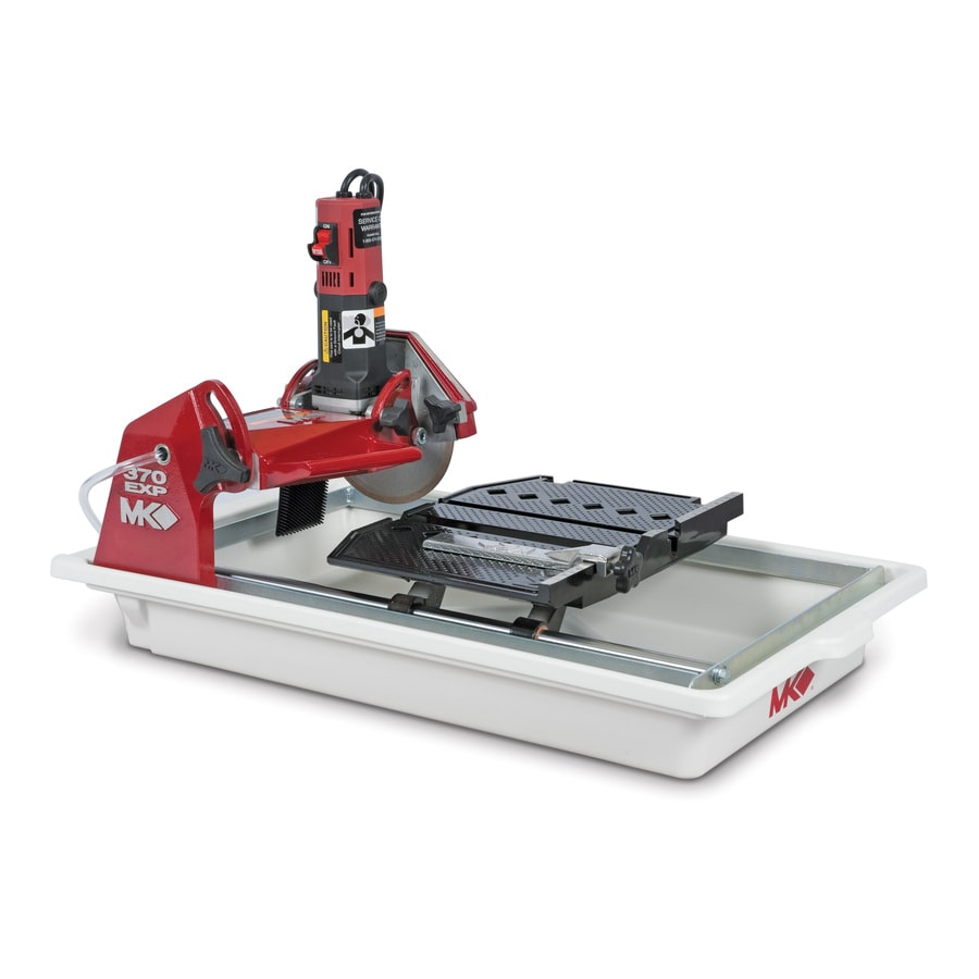 MK Diamond Products 7-in 1.25-HP Wet Sliding Table Tile Saw