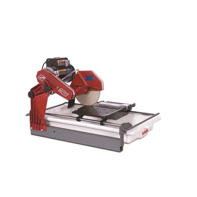 Mk Diamond Products 10 Wet Cutting Tile Saw In The Tile Saws Department At Lowes Com