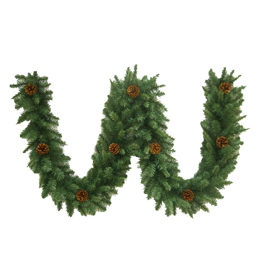 Holiday Living 9-ft Unlit Indoor Fraser Fir Artificial Christmas Garland