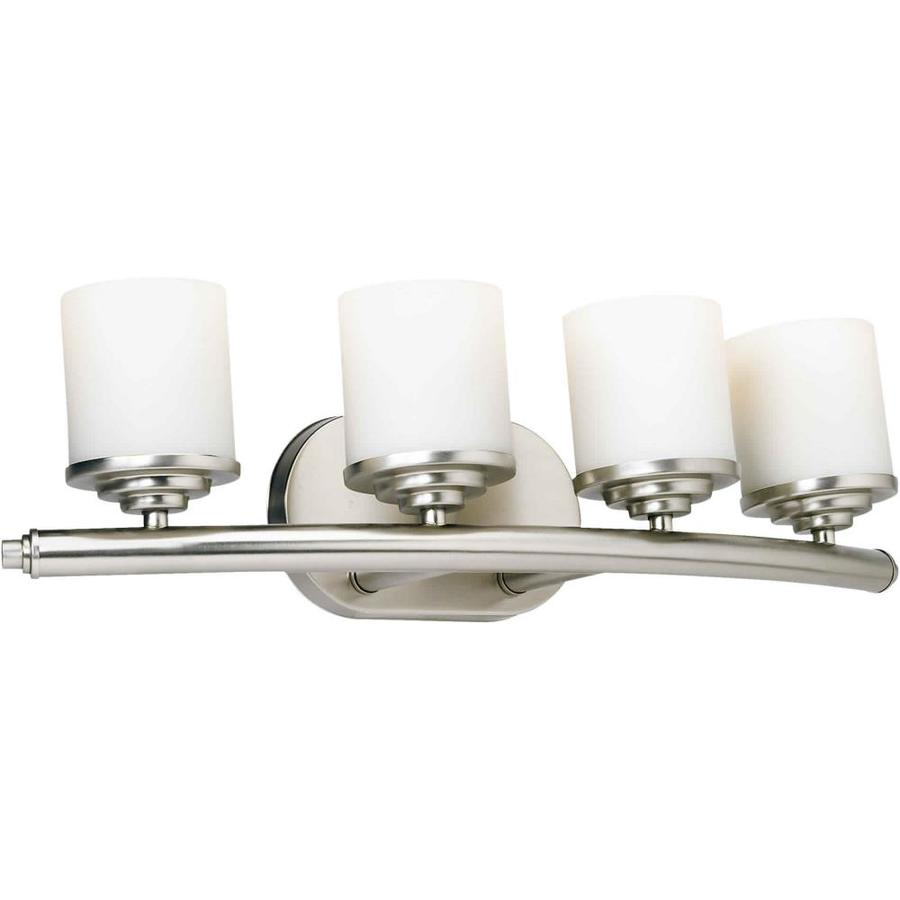 Shop Shandy 4 Light Brushed Nickel Vanity Light At