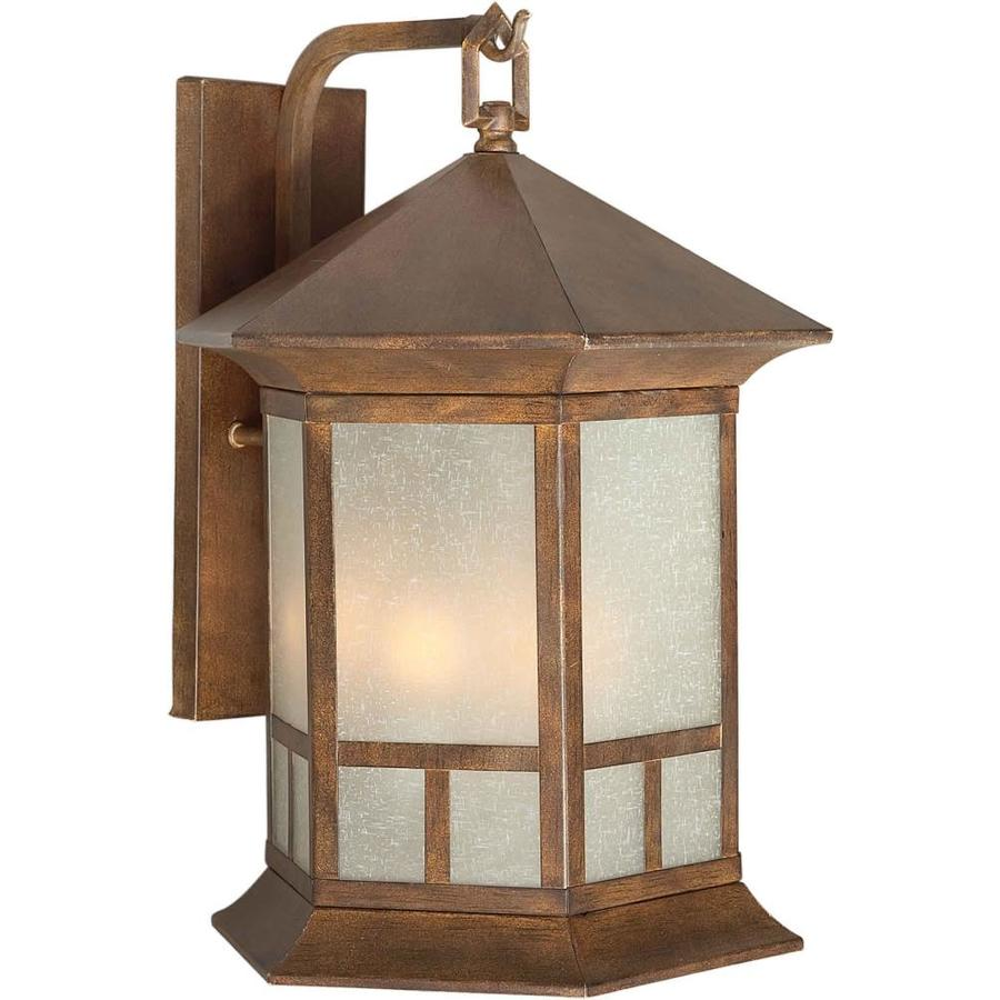18-in H Rustic Sienna Outdoor Wall Light