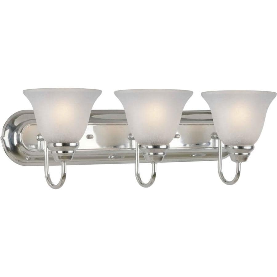 Vanity Lights In Chrome : Shop Shandy 3-Light Chrome Vanity Light at Lowes.com