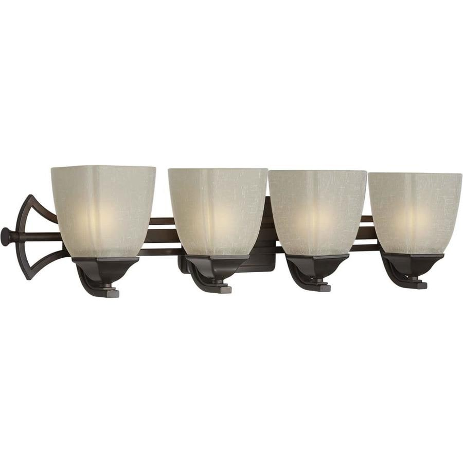 Shandy 4-Light Antique Bronze Vanity Light