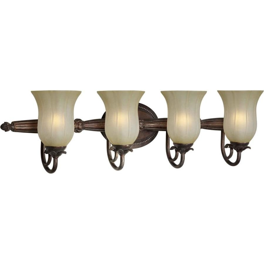 Shop Shandy 4-Light Black Cherry Vanity Light at Lowes.com