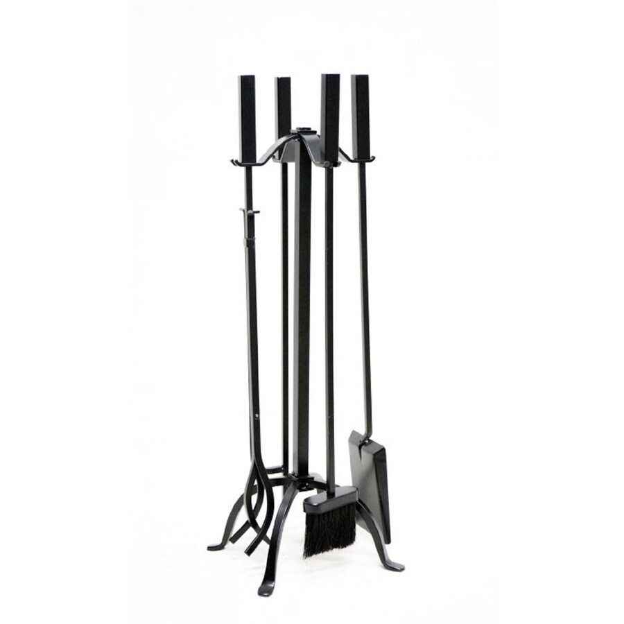 Shop Style Selections 5 Piece Steel Fireplace Tool Set At