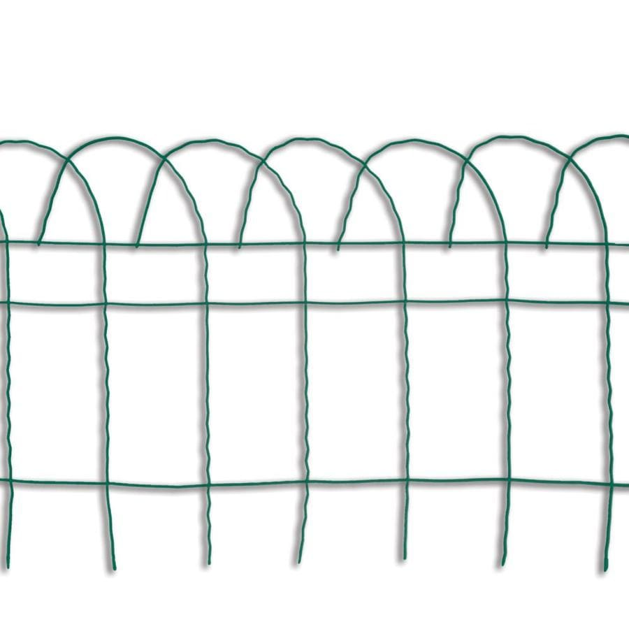 Garden Treasures Fence Green Steel Garden Edging (Common: 0.2-in x 240-in x 14-in; Actual: 0.2-in x 240-in x 14-in)