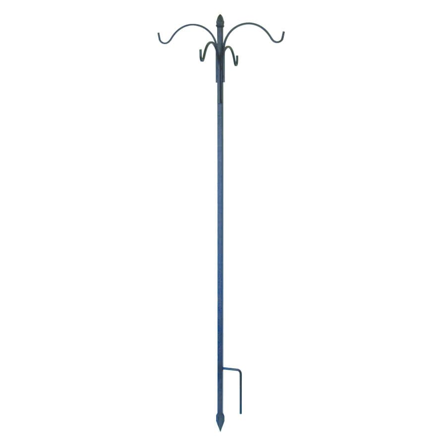 Shop Garden Treasures 84 In Black Metal Sheperd S Hook At