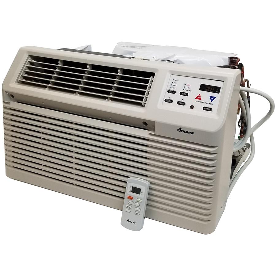 Shop amana 11 700 btu 525 sq ft 230 volt wall air conditioner with