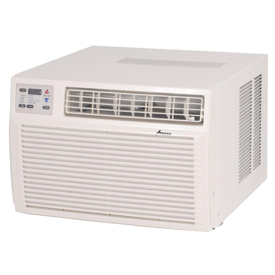 Shop amana 11 600 btu 500 sq ft 230 volt window air for Window air conditioner