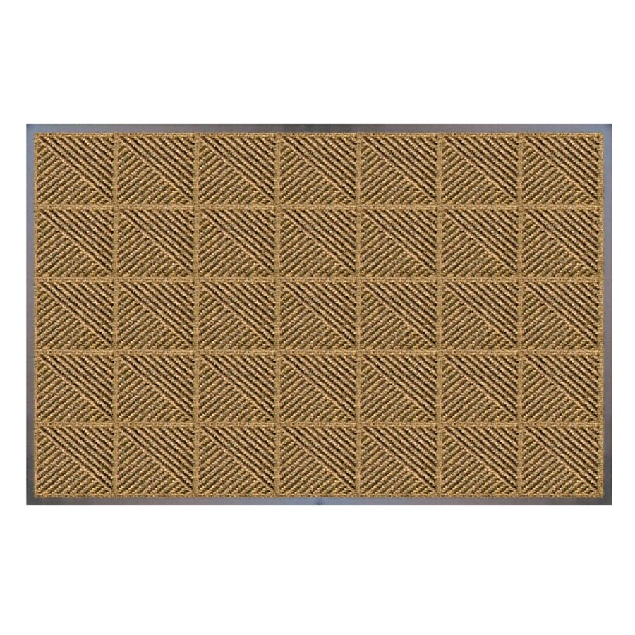 Shaw Living Rectangular Door Mat (Common: 24-in x 48-in; Actual: 26-in x 47-in)