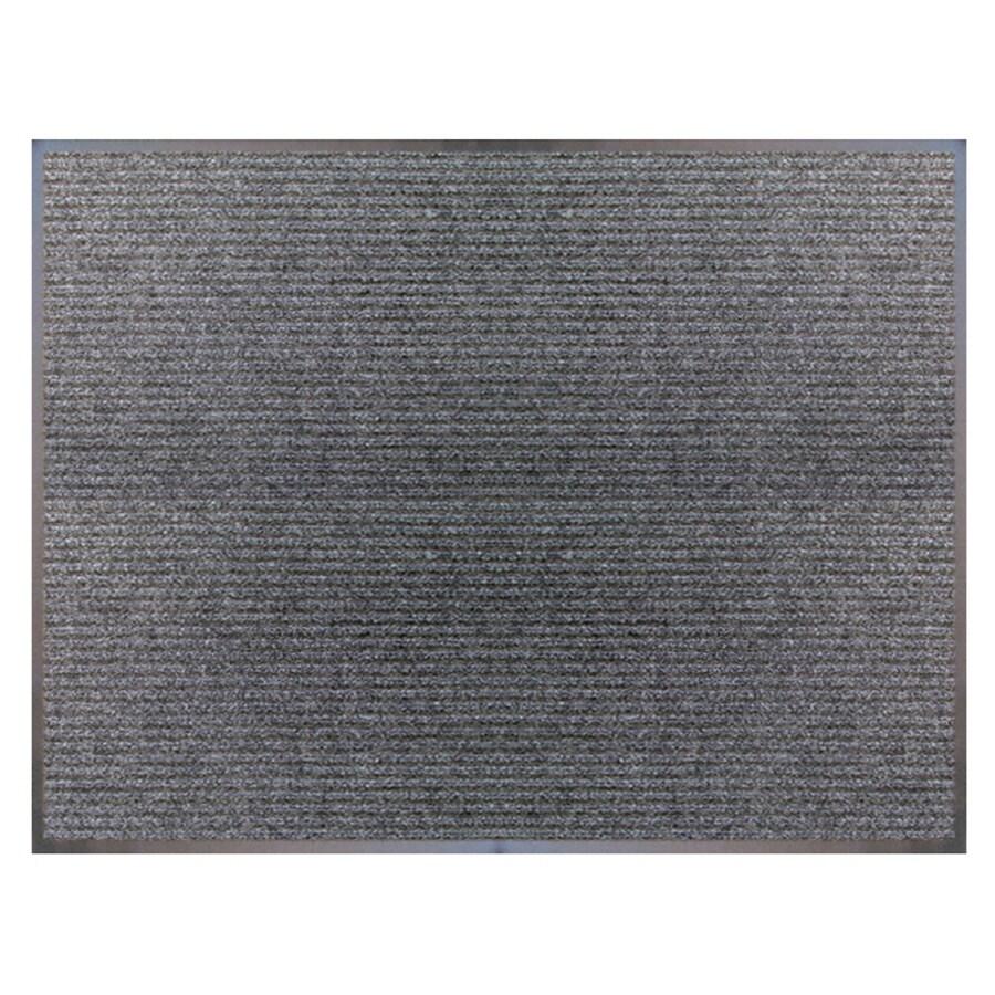 Blue Hawk Charcoal Rectangular Door Mat (Common: 36-in x 48-in; Actual: 36-in x 48-in)