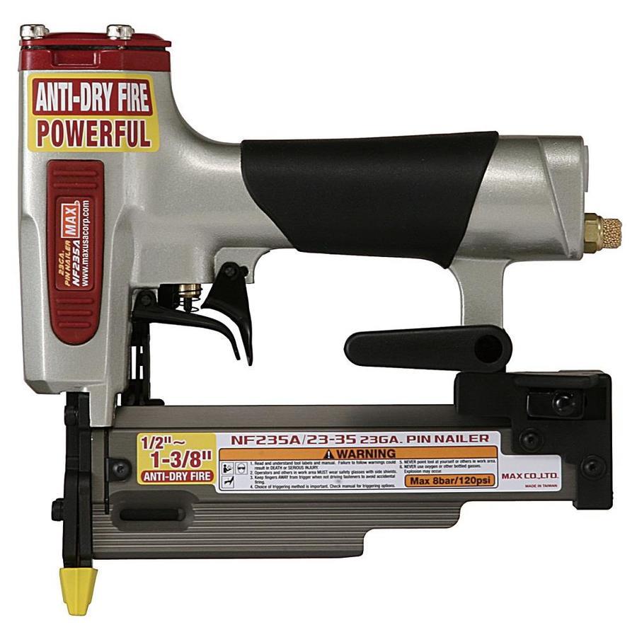 MAX Micro Pinner 23-Gauge Roundhead Pin Pneumatic Nailer