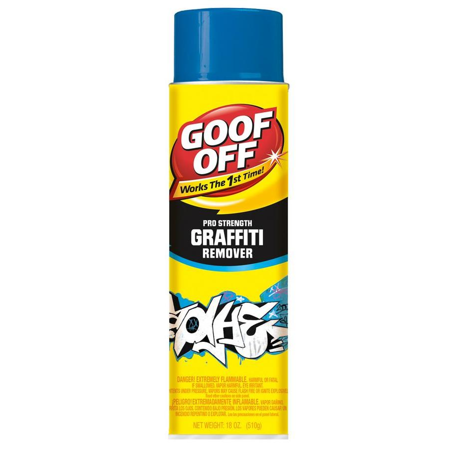 Shop Goof Off Aerosol Graffiti Remover At Lowes Com