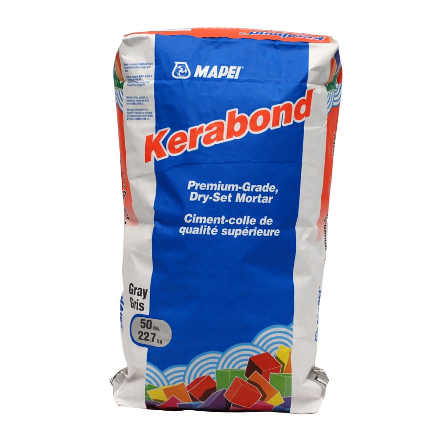 MAPEI Kerabond 50-lb Gray Powder Dry-Thinset Mortar