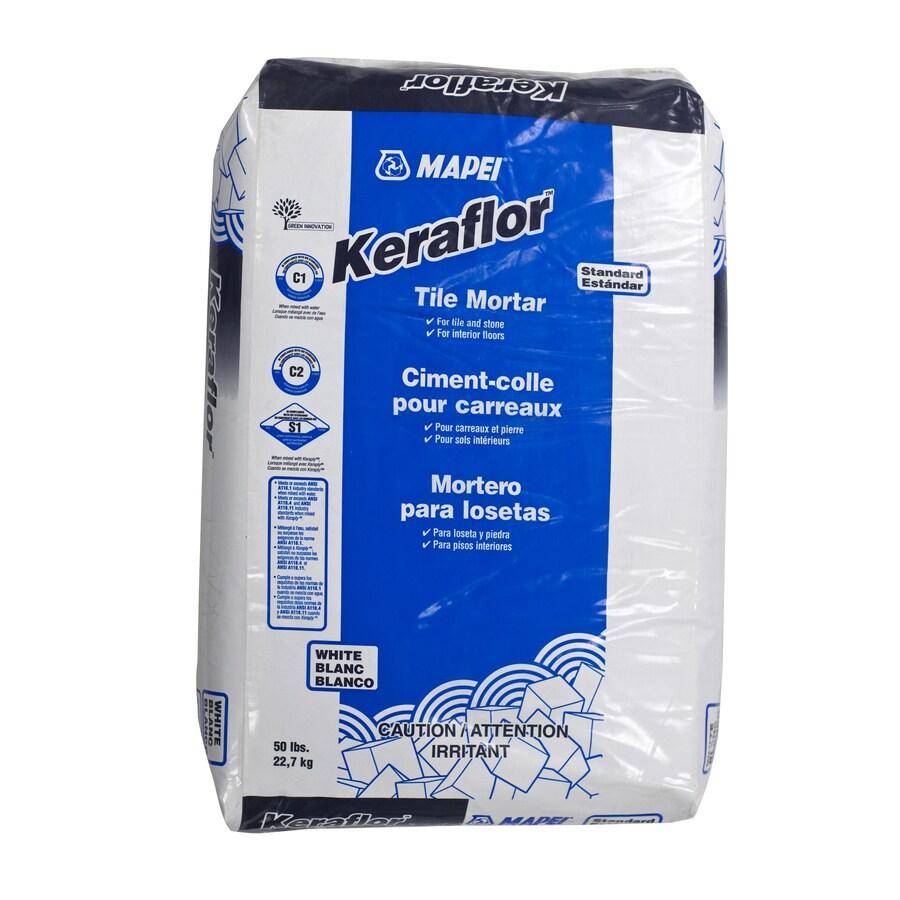 MAPEI White Powder Dry-Thinset Mortar