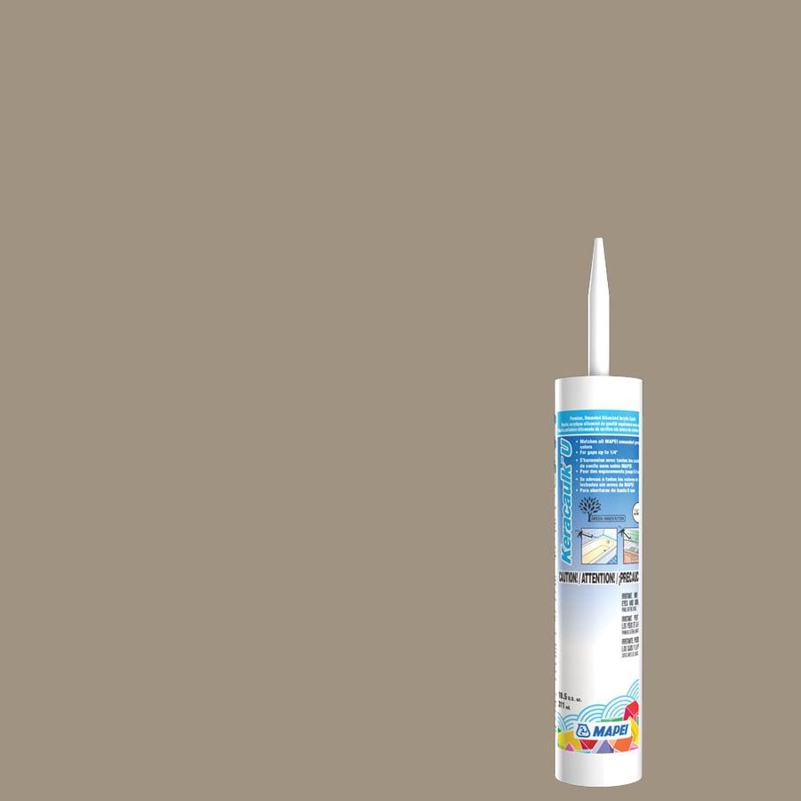MAPEI Keracaulk U 10.5-oz Driftwood Paintable Siliconized Acrylic Specialty Caulk