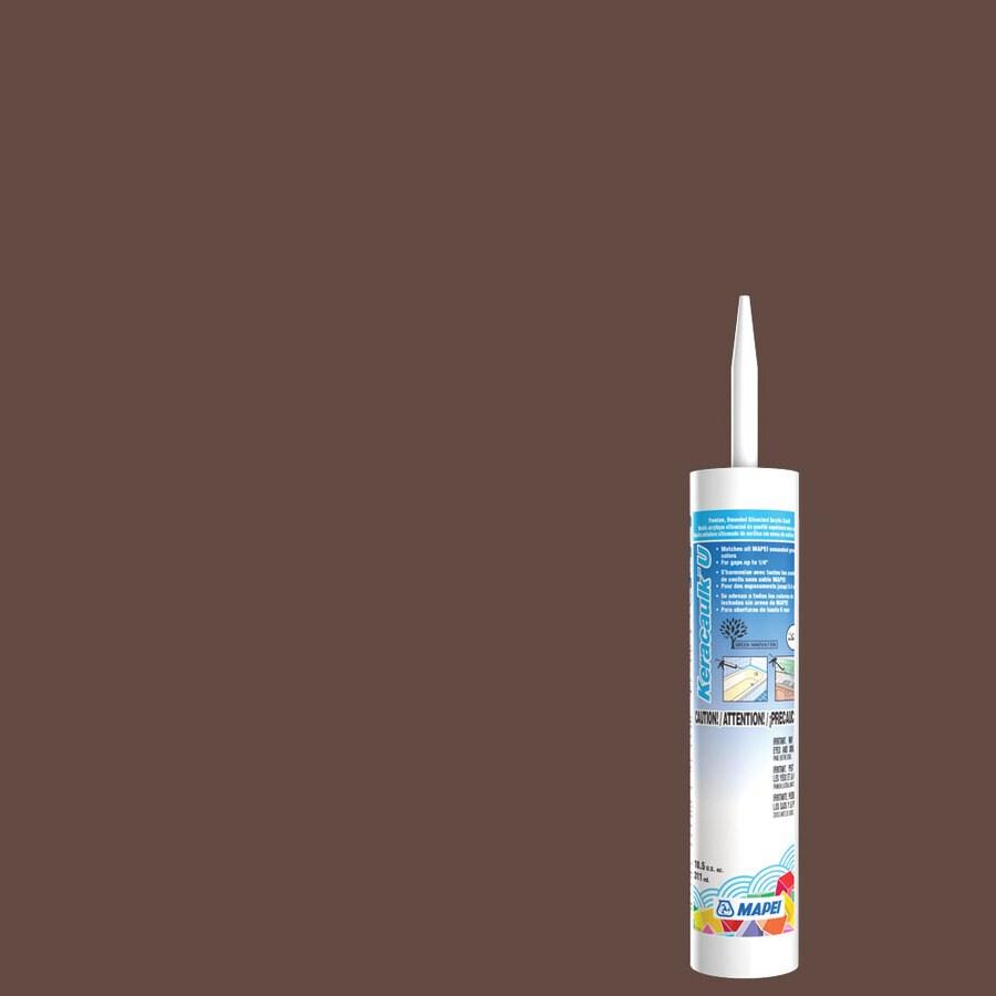 MAPEI Keracaulk U 10.5-oz Mahogany Paintable Siliconized Acrylic Specialty Caulk