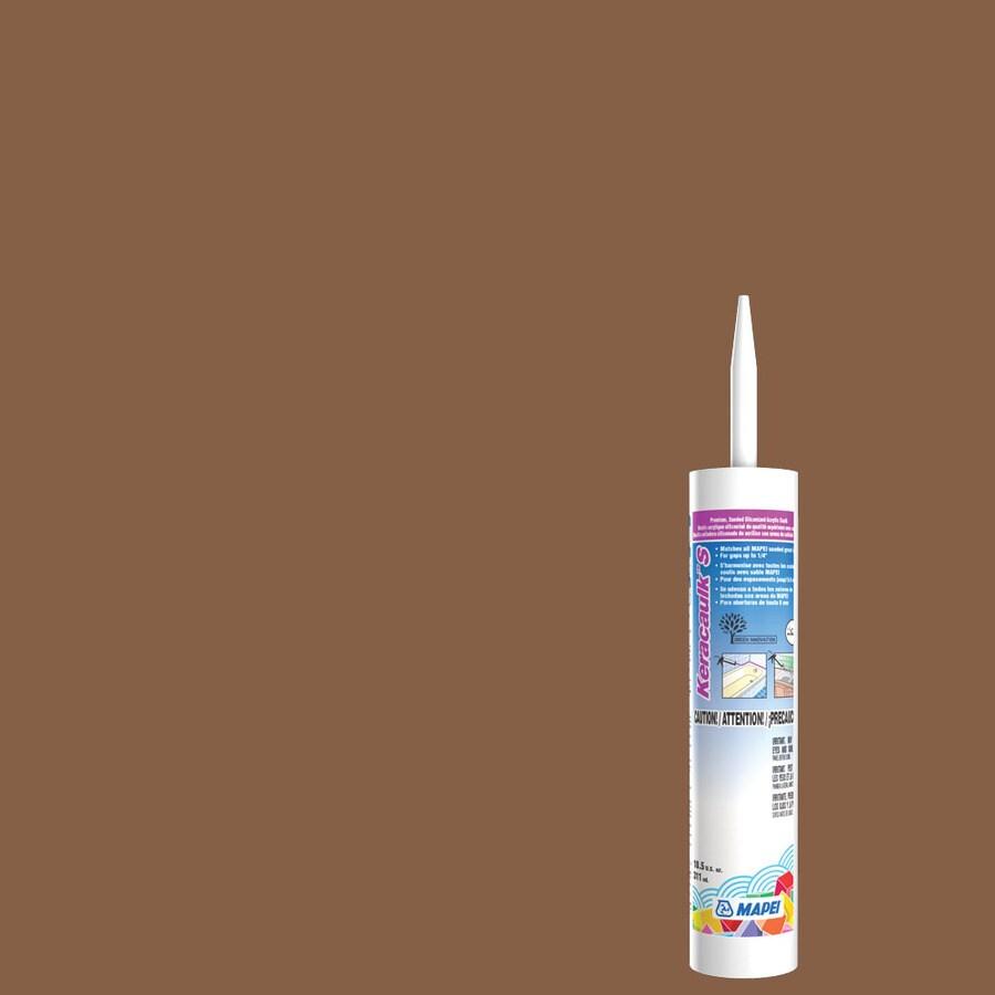 MAPEI Keracaulk S 10.5-oz Pecan Sanded Paintable Siliconized Acrylic Specialty Caulk