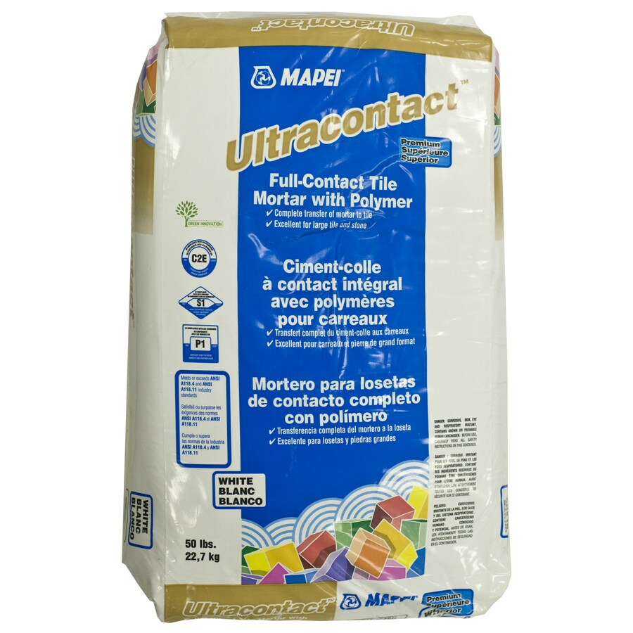 MAPEI White Powder Polymer-Modified Thinset Mortar