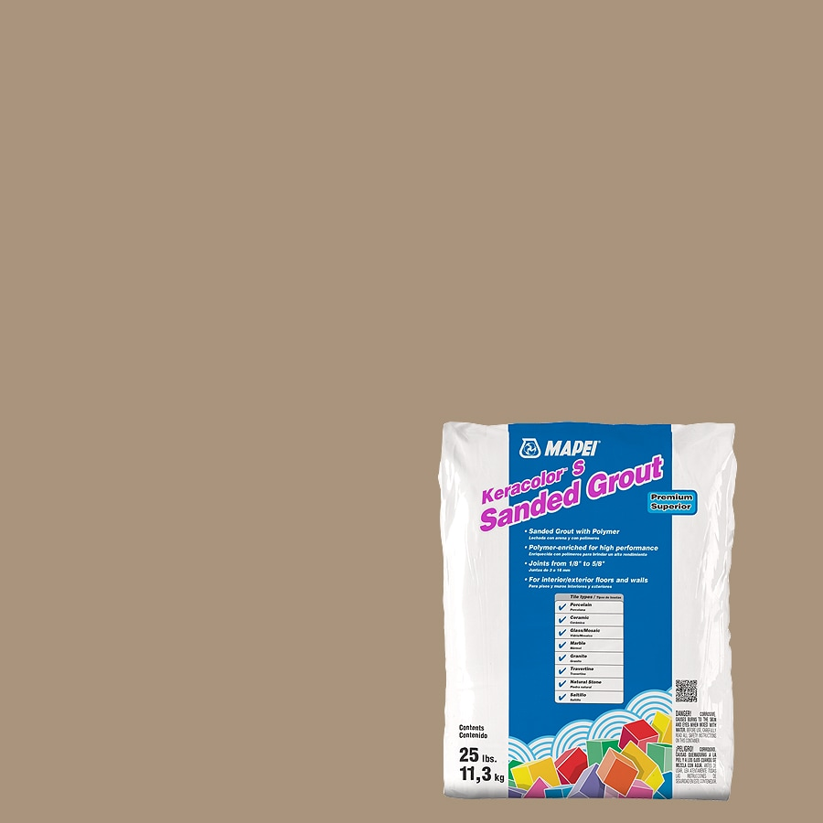 MAPEI Keracolor S 25-lb Chamois Sanded Powder Grout