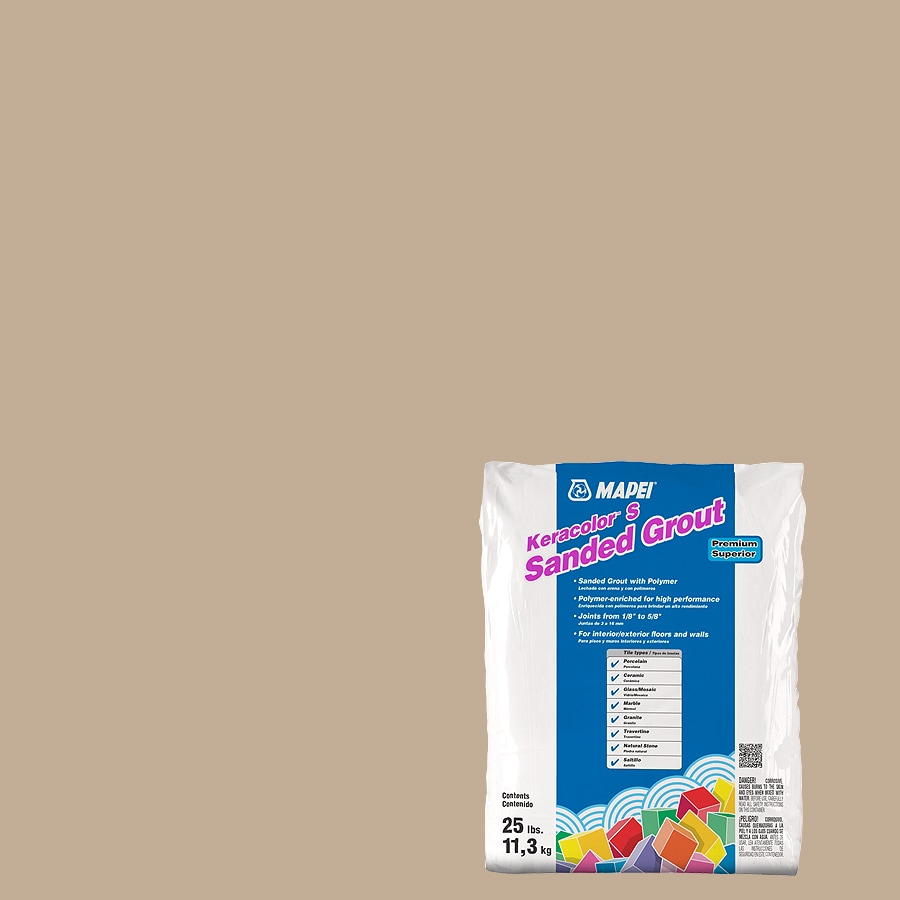 MAPEI Keracolor S 25-lb Irish Cream Sanded Powder Grout