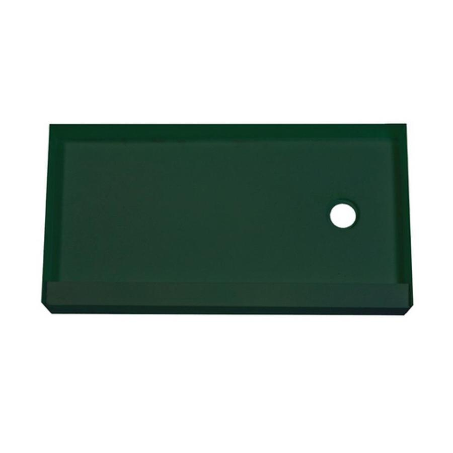 MAPEI Green Polystyrene Shower Base (Common: 60-in W x 30-in L; Actual: 60-in W x 30-in L)