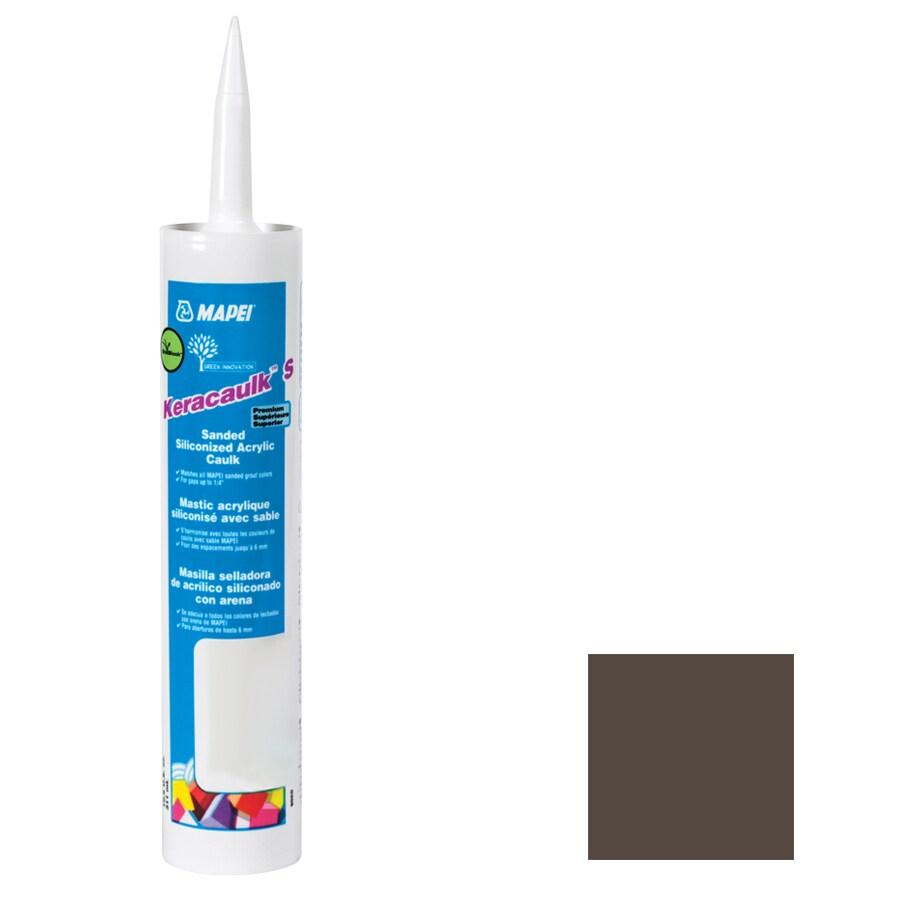 MAPEI Keracaulk S 10.5-oz Chocolate Sanded Paintable Specialty Caulk