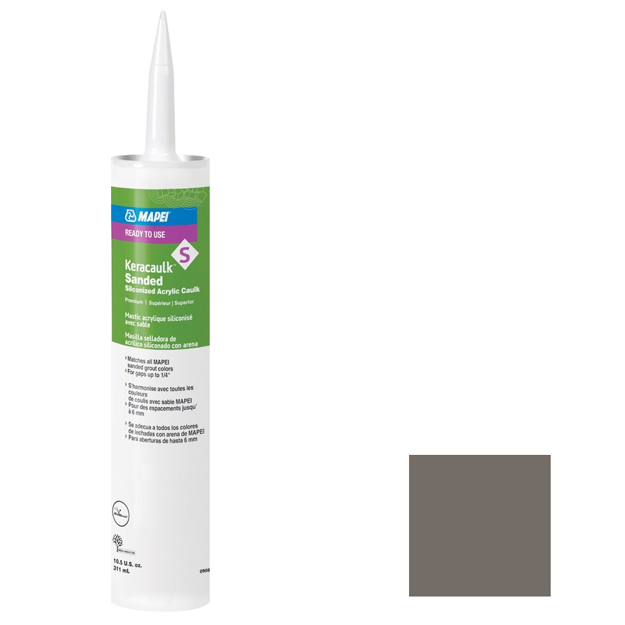 MAPEI Keracaulk S 10.5-oz Gray Sanded Paintable Specialty Caulk