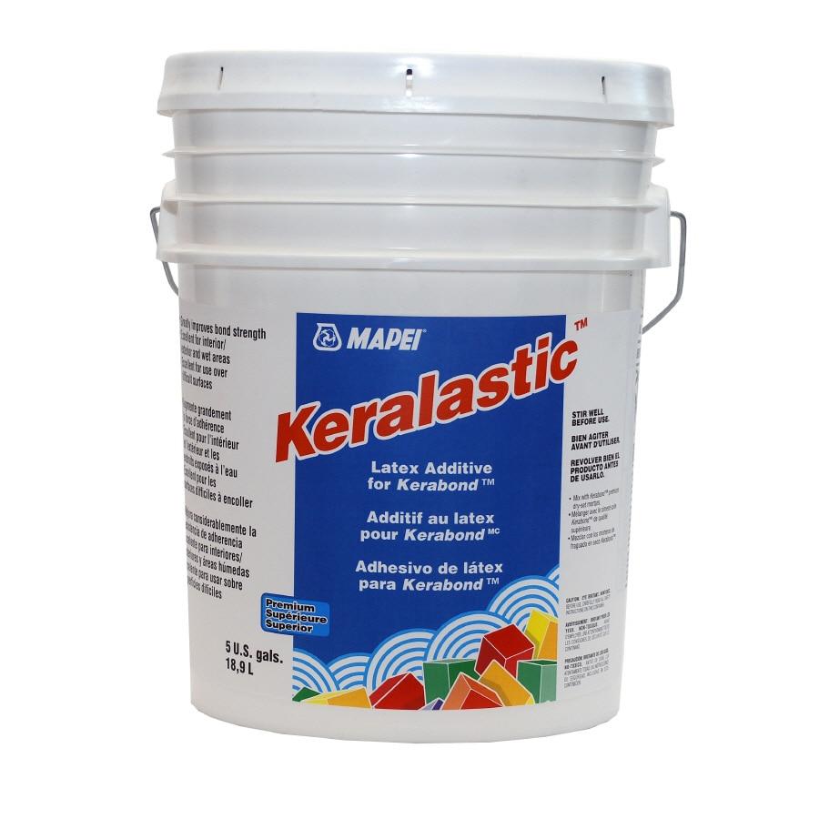 Shop Mapei 5 Gallon White Liquid Latex Additives At