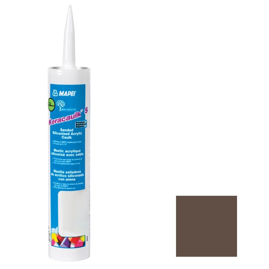 MAPEI Keracaulk S 10.5-oz Cocoa Sanded Paintable Specialty Caulk