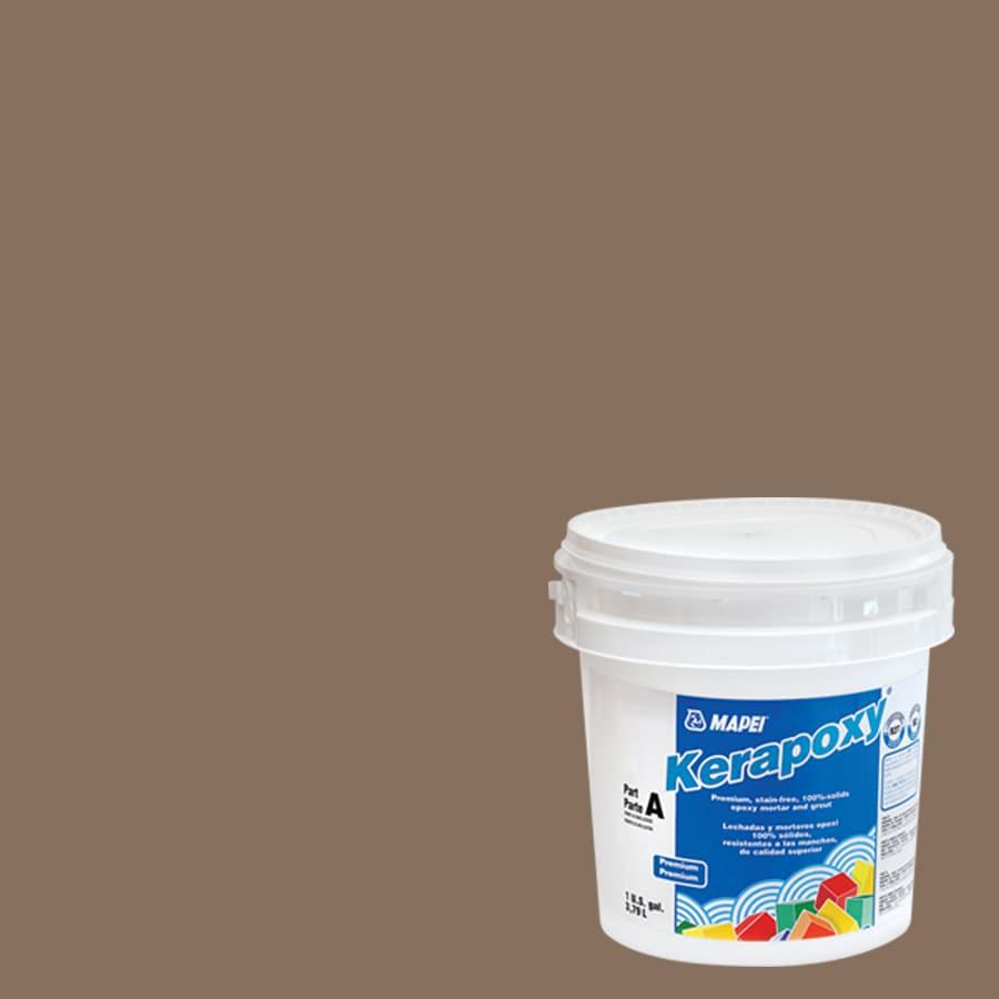 MAPEI Kerapoxy 1-Gallon Mocha Kerapoxy Sanded Epoxy Grout