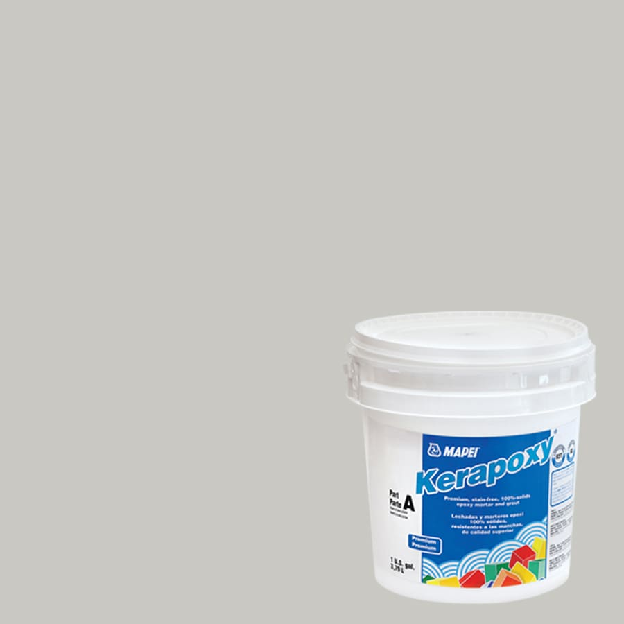 Shop mapei kerapoxy 1 gallon warm gray kerapoxy sanded - Joint epoxy mapei ...