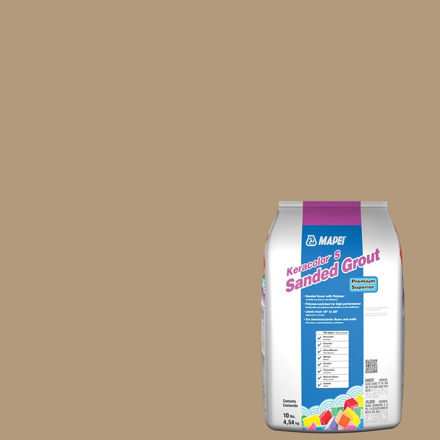 MAPEI Keracolor S 10-lb Bamboo Sanded Powder Grout
