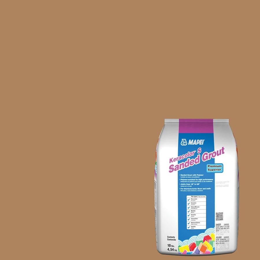 MAPEI Keracolor S 10-lb Acorn Sanded Powder Grout