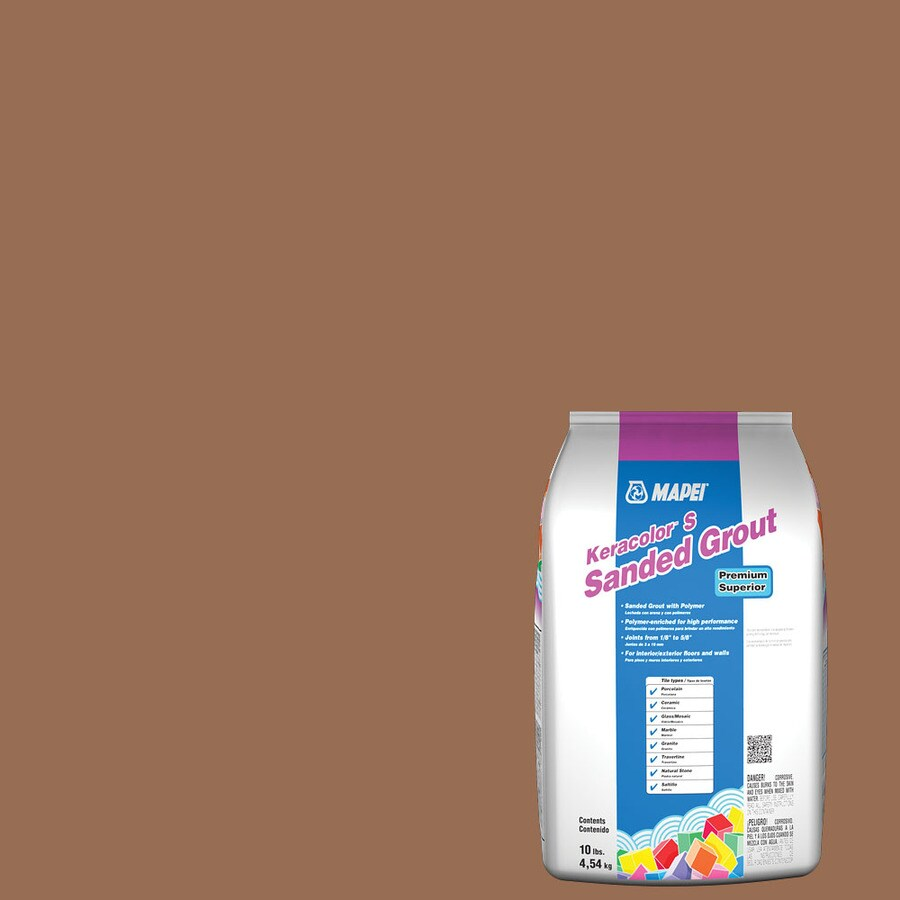 MAPEI Keracolor S 10-lb Caramel Sanded Powder Grout