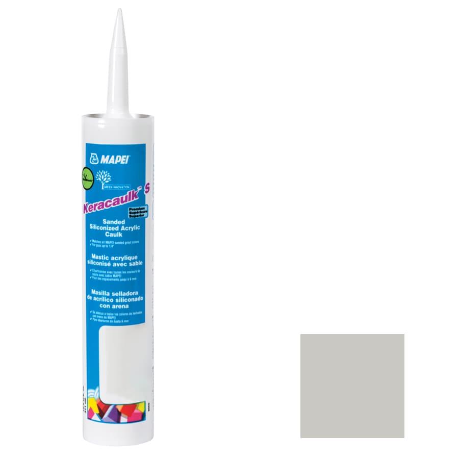 MAPEI Keracaulk S 10.5-oz Warm Gray Sanded Paintable Siliconized Acrylic Specialty Caulk