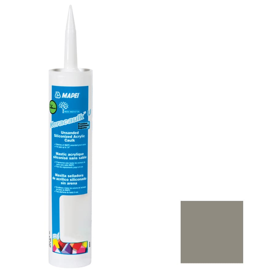 MAPEI Keracaulk U 10.5-oz Pewter Paintable Specialty Caulk
