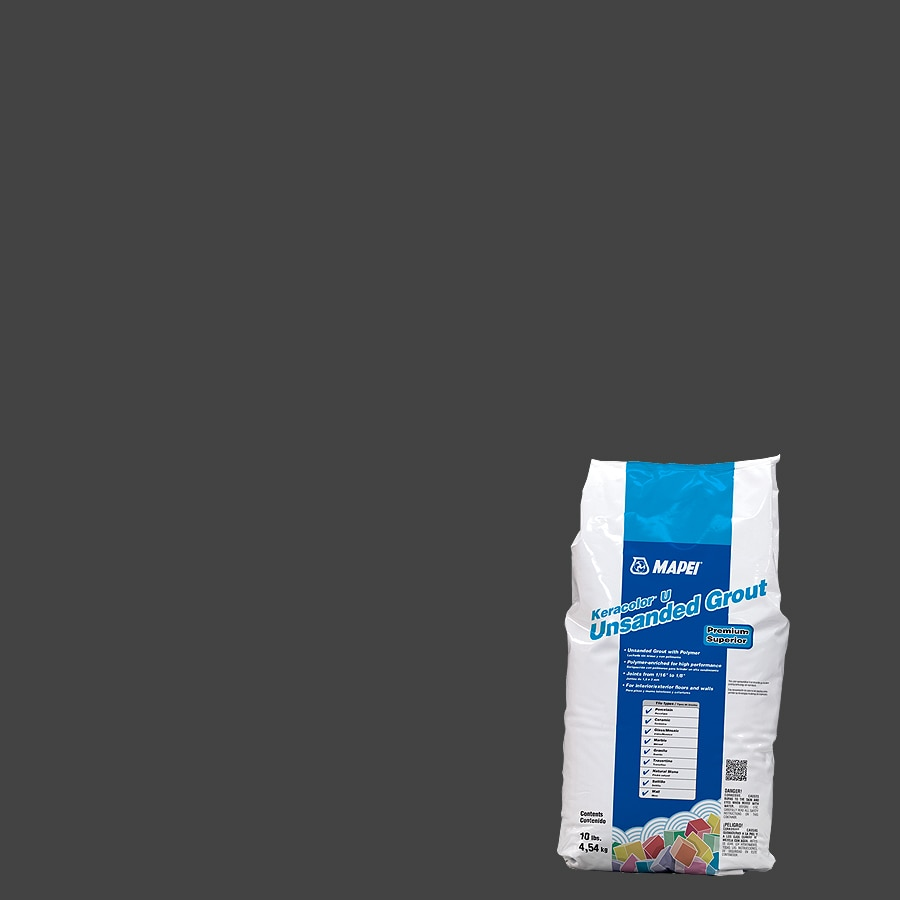MAPEI Keracolor U 10-lb Black Unsanded Powder Grout