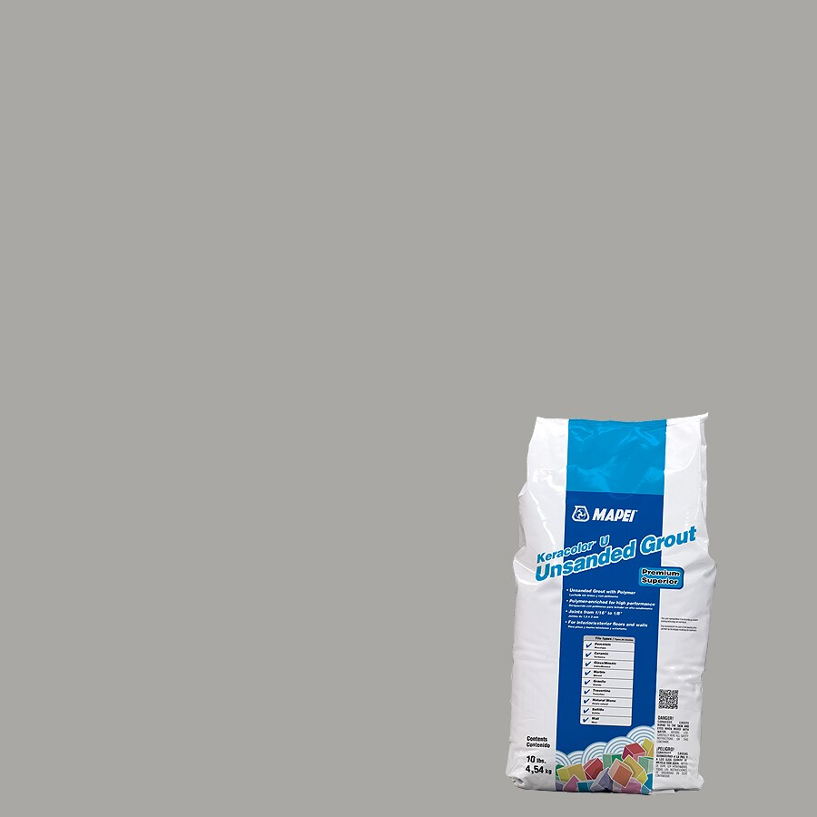MAPEI Keracolor U 10 Pound(S) Silver Unsanded Powder Grout