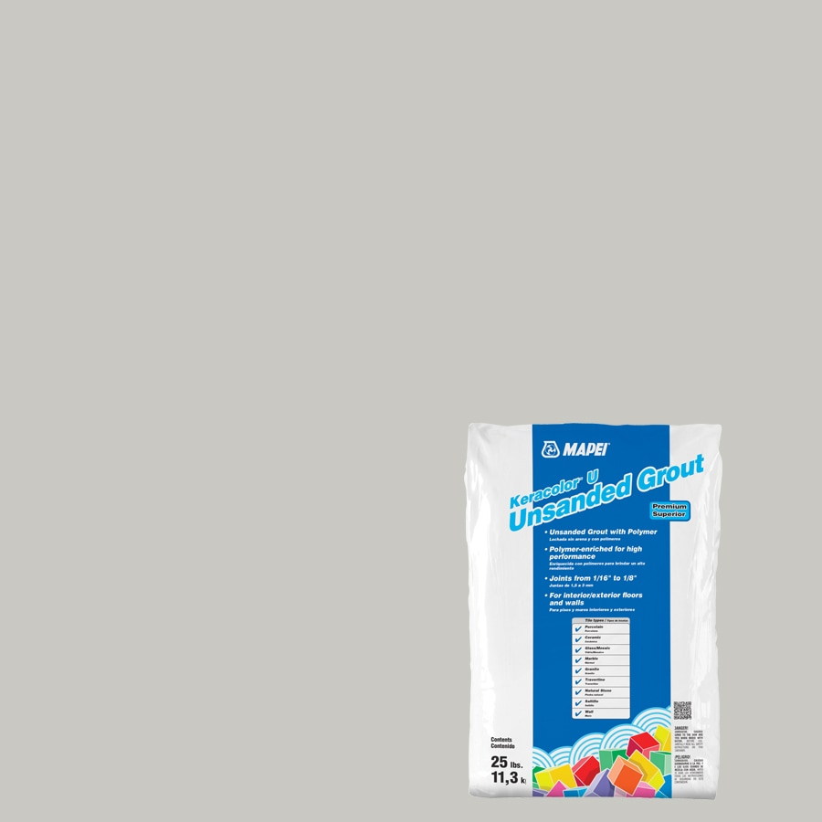 MAPEI 25-lbs Warm Gray Unsanded Powder Grout