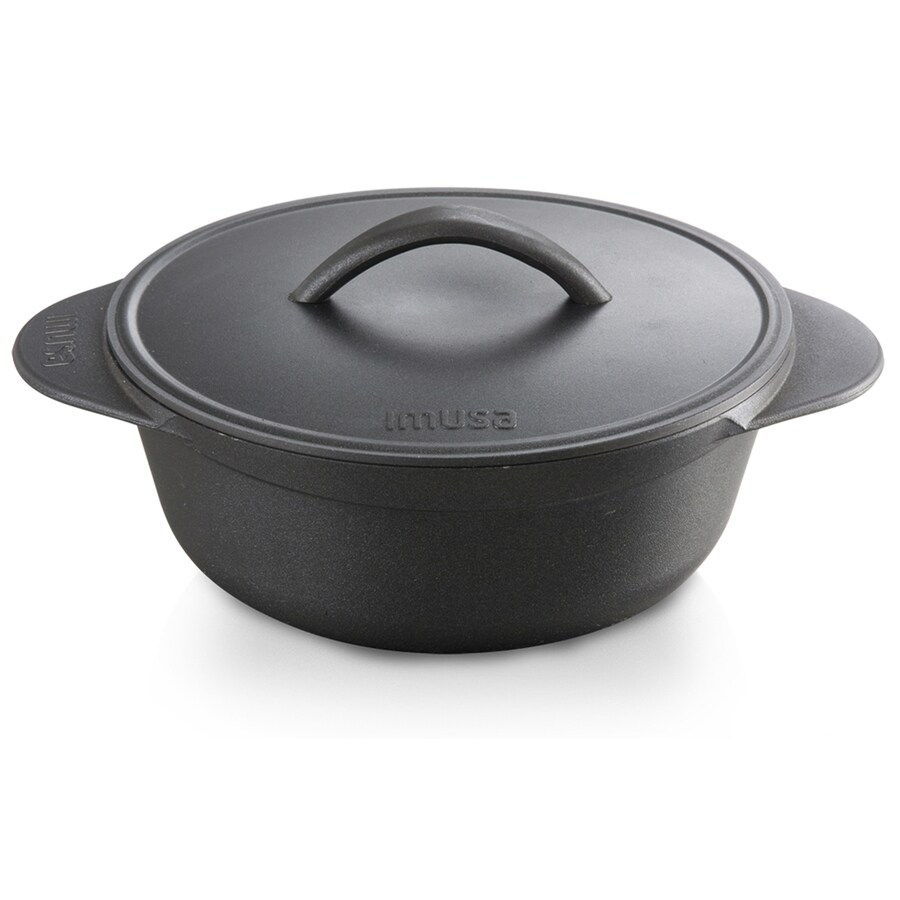 IMUSA 6-Quart Aluminum Stock Pot with Lid