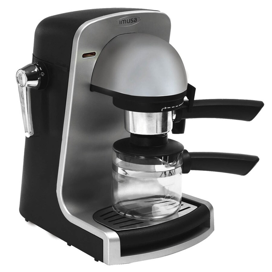espresso machine no plastic