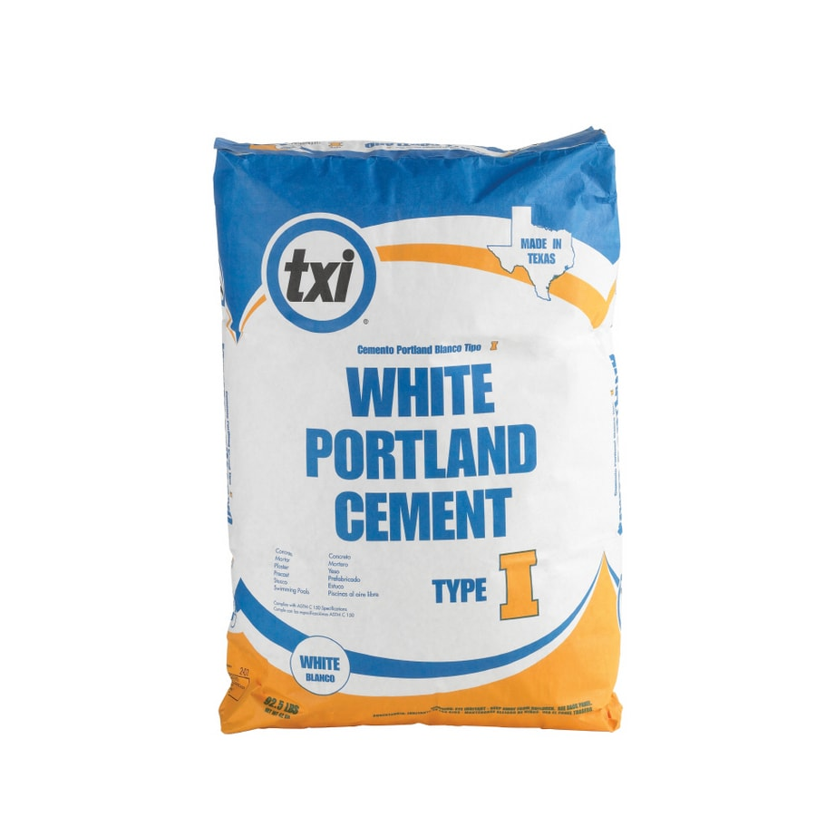 Portland Cement Lowes : Shop txi lbs type i portland cement at lowes